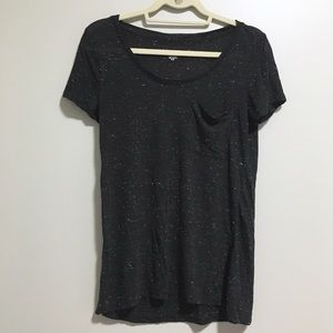 Mossimo Spotted Black Shirt with Pocket